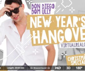 Virtualrealgay New Year's hangover  (20:05 min.)