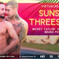 Virtualrealgay Sunset threesome  (30:15 min.)