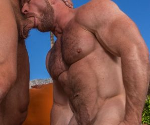 Titan Men Dirk Caber and Liam Knox flip fuck