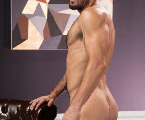 Raging Stallion Jeff Powers hammers Bruno Bernal