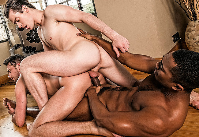 LucasEntertainment Damon Heart, Jon Bae & Sean Xavier – Raw Double Penetrations 04: Stuffed