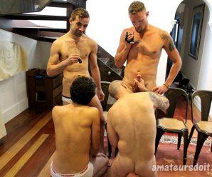 Amateurs Do It Leo, Jonny, Randy and Jaxon
