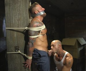 Kink Men Hugh Hunter gets edged
