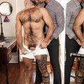 Men.com Teddy Torres rams Beau Reed