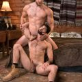 Raging Stallion Colby Keller pounds Tegan Zayne
