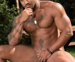 Raging Stallion Jason Vario drills Sean Duran