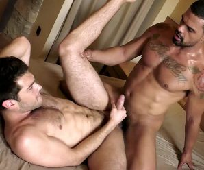 LucasEntertainment Ben Batemen & Frank Tyron – Up The Ass