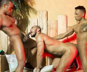 Fuckermate Carlos Leao, Louis Ricaute & Timarrie Baker – Raw threesome at The Moon