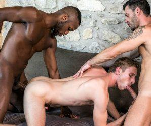 LucasEntertainment Andre Donovan, Andy Star & Christian Haynes – Craving Raw Dick