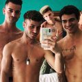 CockyBoys Allen King, Cory Kane, Taylor Reign & Troy Accola – CBFO! Love Lost & Found BTS