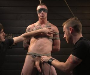 Kink Men Dane Stewart gets edged