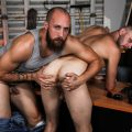Pride Studios Dustin Steele pounds Chandler Scott