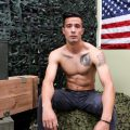 Active Duty Jay Luna jerks off