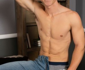 Sean Cody Palmer busts a nut