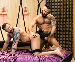 Men.com Jessy Ares dominates Tyler Berg