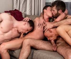 French Twinks 7-man orgy