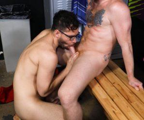 Pride Studios Angel Ventura nails Bennett Anthony