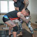 Bromo Jerome hammers Ryan Cage