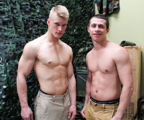 Active Duty Blake Effortley and Bradley Hayes