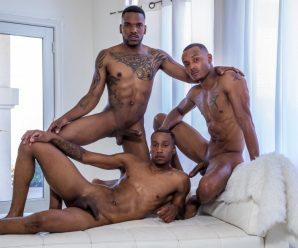 Noir Male Aaron, Jigz and Titus