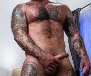 Raging Stallion Wade Wolfgar drills Dickie James