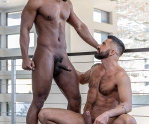 Noir Male DeAngelo Jackson rams Dominic Pacifico