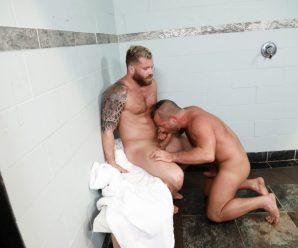 Pride Studios Riley Mitchel and Jacob Woods flip fuck
