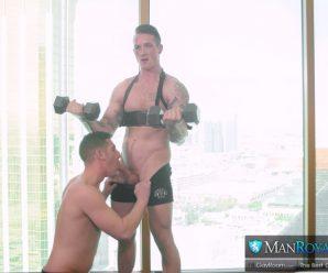 Gay Room Brad Rockwell bottoms for Jackson Cooper