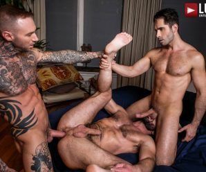Lucas Entertainment Dylan and Michael spit-roast Jake