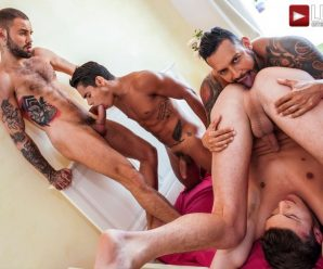 Lucas Entertainment Viktor, Braxton, Jeffrey and Randy