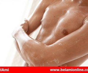Bel Ami Online Leo Lamech in the shower